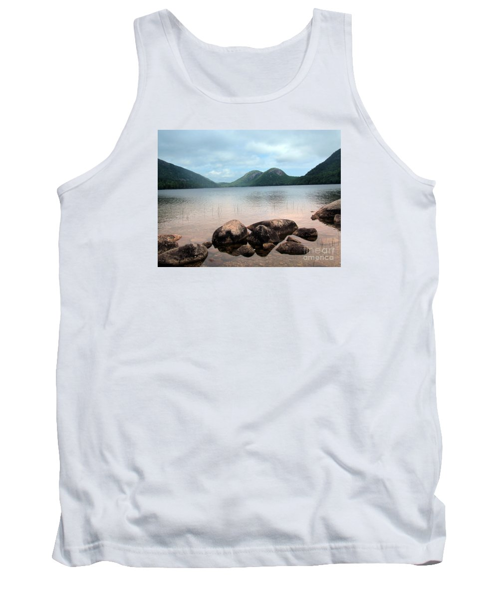 Jordan Pond Tank Top featuring the photograph Jordan Pond by Elizabeth Dow