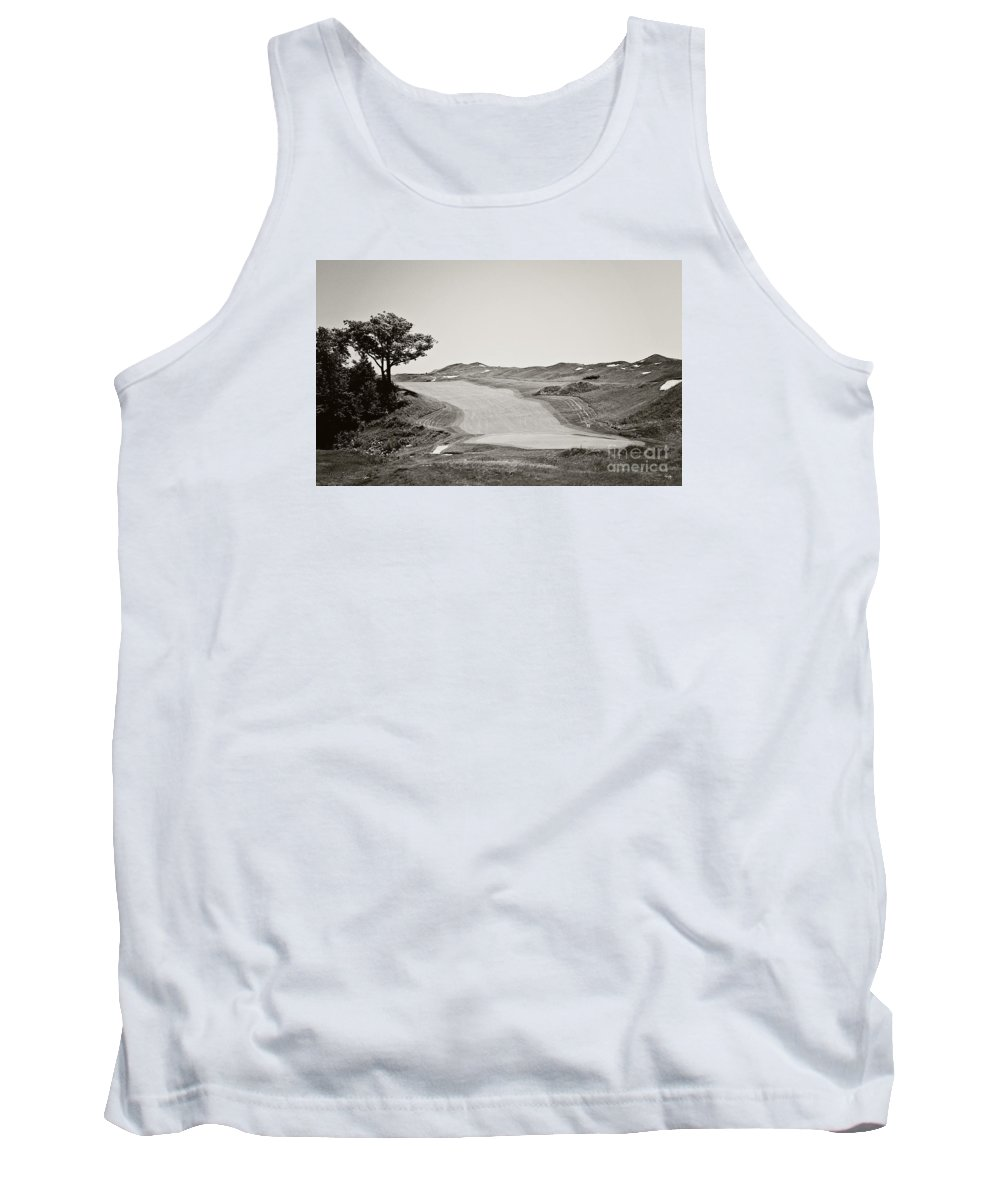 Golf Tank Top featuring the photograph Ninth Hole by Scott Pellegrin