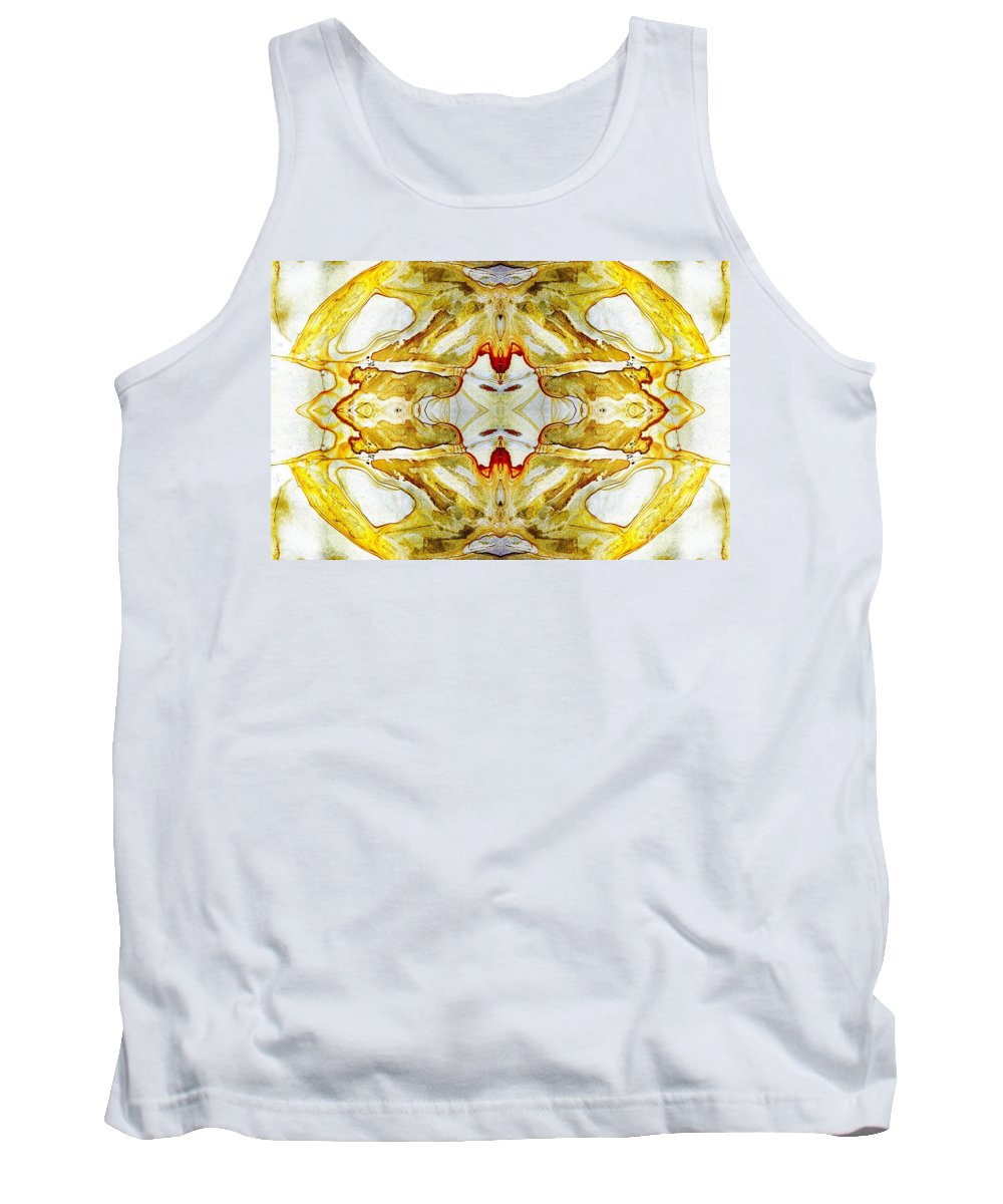 Abstract Tank Top featuring the photograph Patterns In Stone - 150 by Paul W Faust - Impressions of Light