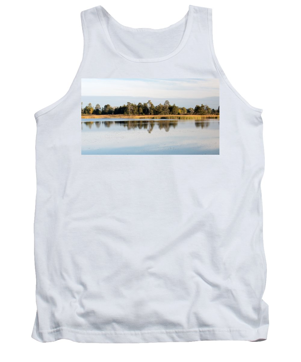 Upper Peninsula Tank Top featuring the photograph Picture Perfect by Linda Kerkau
