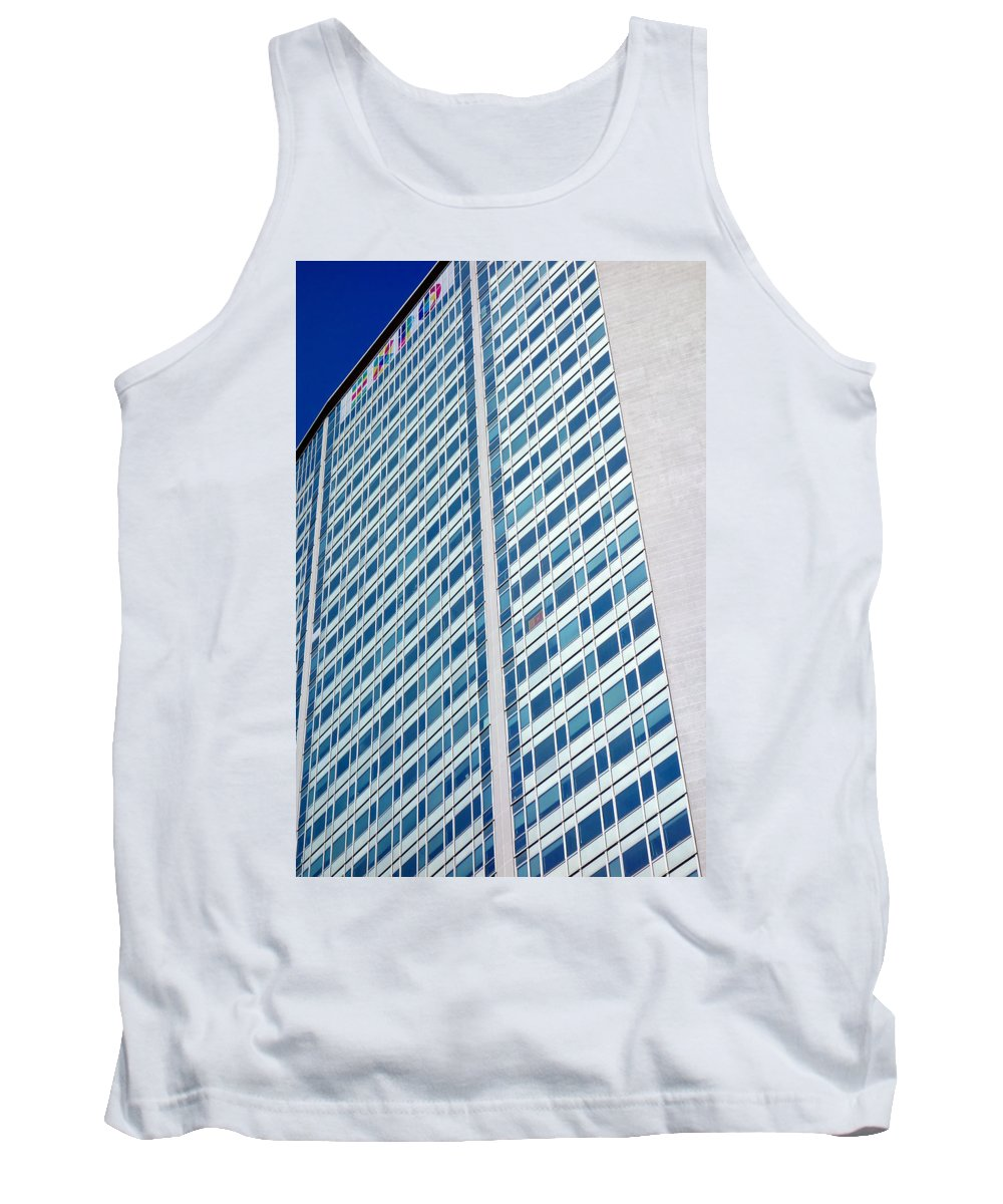 2015 Tank Top featuring the photograph Pirelli Building by Valentino Visentini