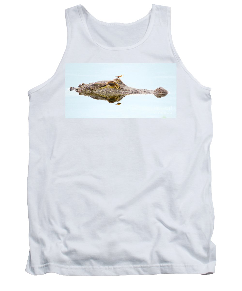 Gator Tank Top featuring the photograph Reflection by To-Tam Gerwe
