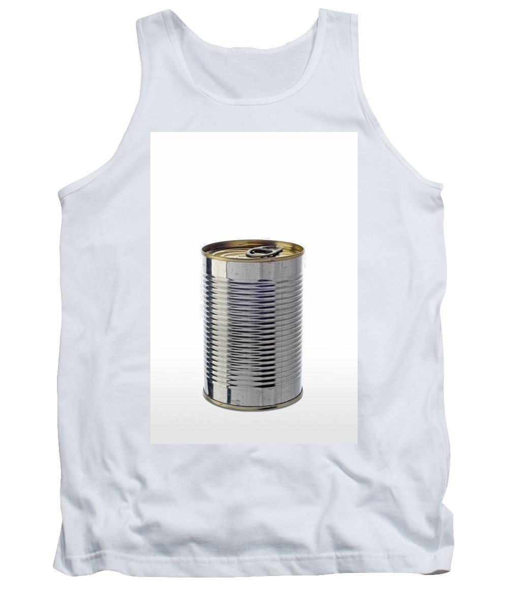 Iron Tank Top featuring the photograph Simple Tin Can by Alain De Maximy