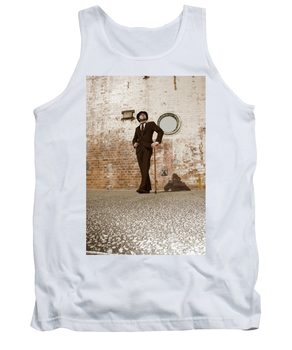Archaic Tank Top featuring the photograph Streets Of The Old by Jorgo Photography - Wall Art Gallery