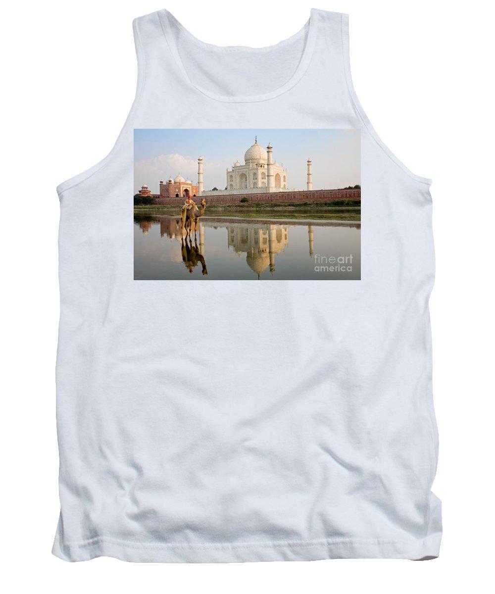 Landscape Tank Top featuring the photograph Taj Mahal by David Davis