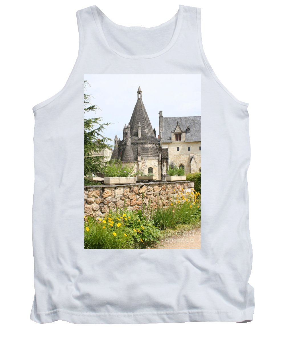 Kitchen Tank Top featuring the photograph The Kitchenbuilding Of Abbey Fontevraud by Christiane Schulze Art And Photography