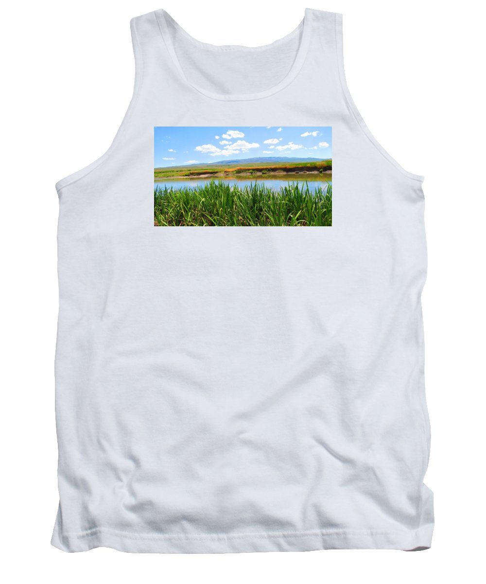 Reedy Tank Top featuring the photograph Turkey Countryside by FL collection