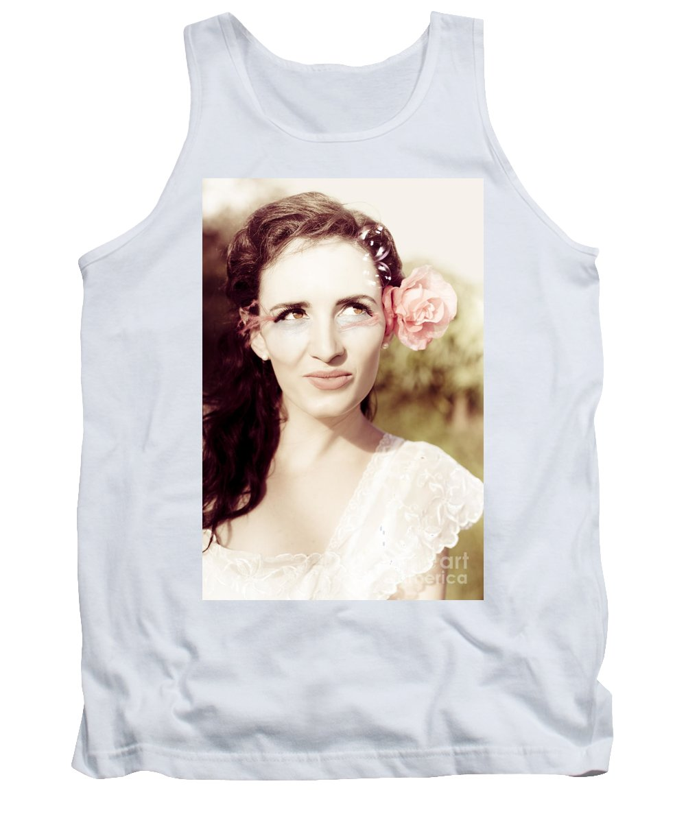 Outdoor Tank Top featuring the photograph Vintage Connection by Jorgo Photography - Wall Art Gallery