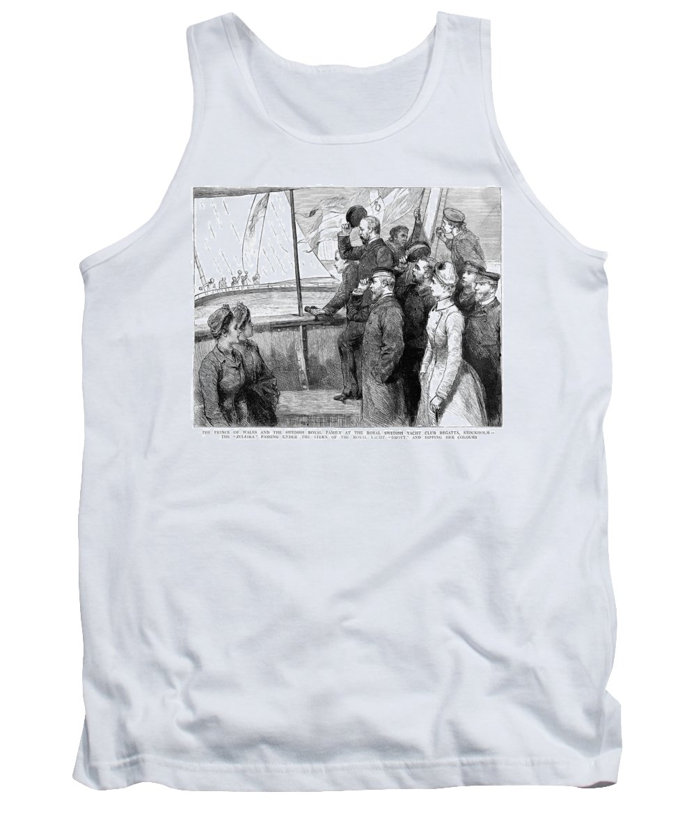 1885 Tank Top featuring the painting Edward Vii (1841-1910) by Granger