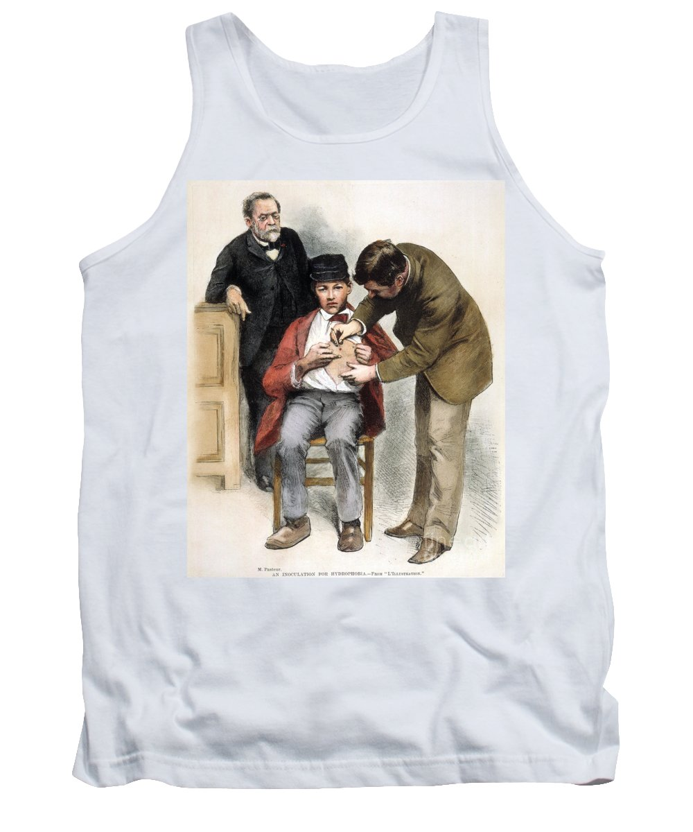 1885 Tank Top featuring the photograph Louis Pasteur (1822-1895) by Granger