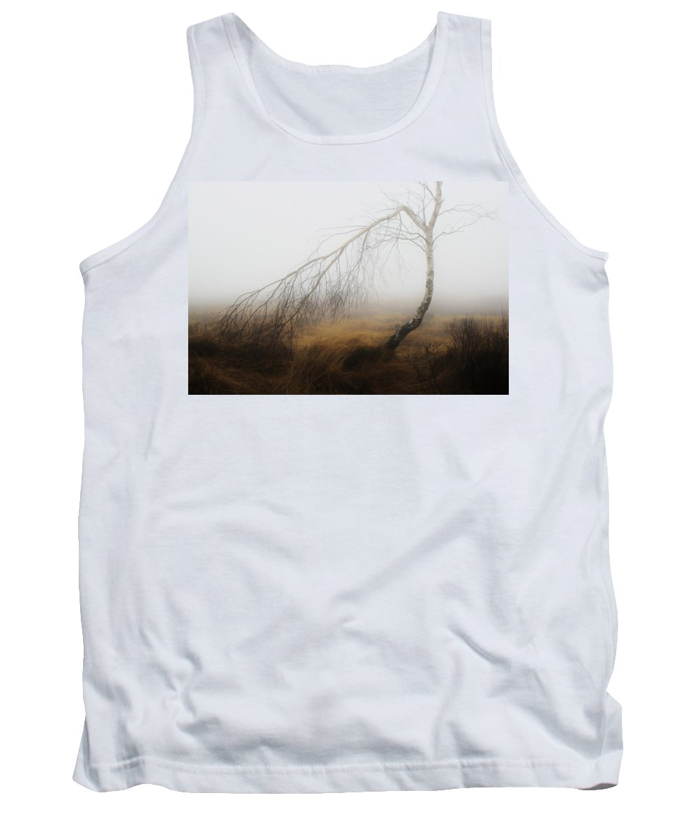 Landscape Tank Top featuring the photograph Morning Fog by Mountain Dreams