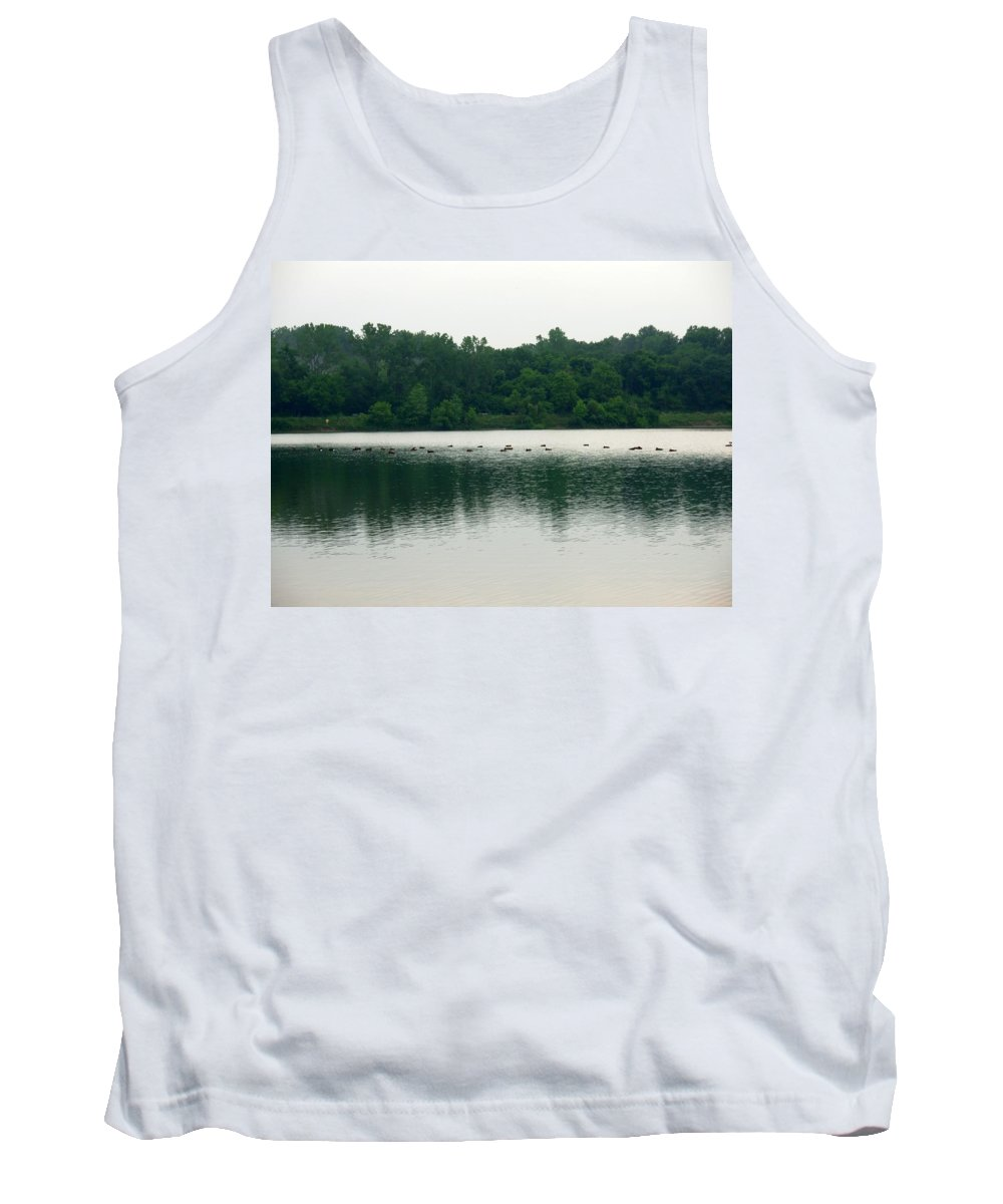 Lake Tank Top featuring the photograph 1254c by Kimberlie Gerner
