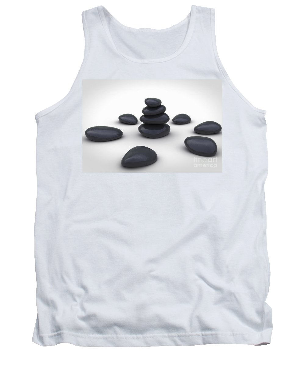 Alternative Therapy Tank Top featuring the photograph Stone Therapy by Science Picture Co