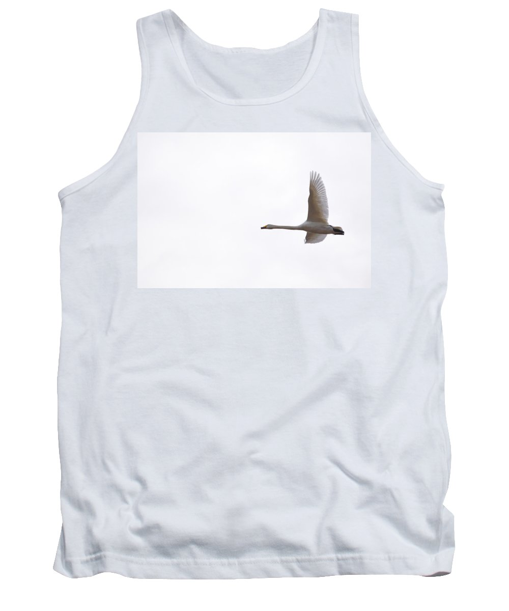 Finland Tank Top featuring the photograph Whooper Swan by Jouko Lehto