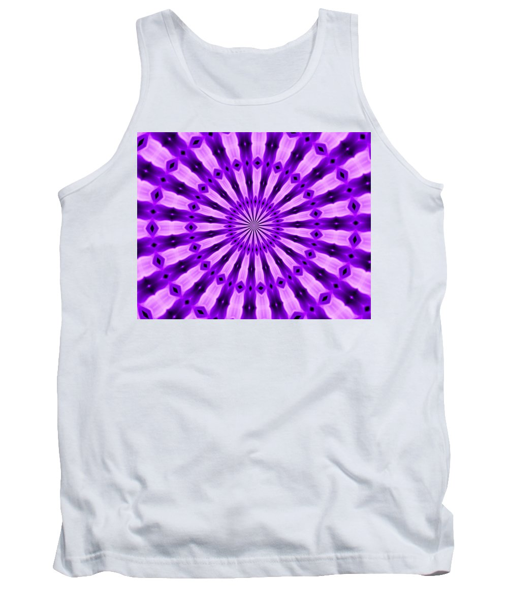 Original Tank Top featuring the painting Abstract 122 by J D Owen