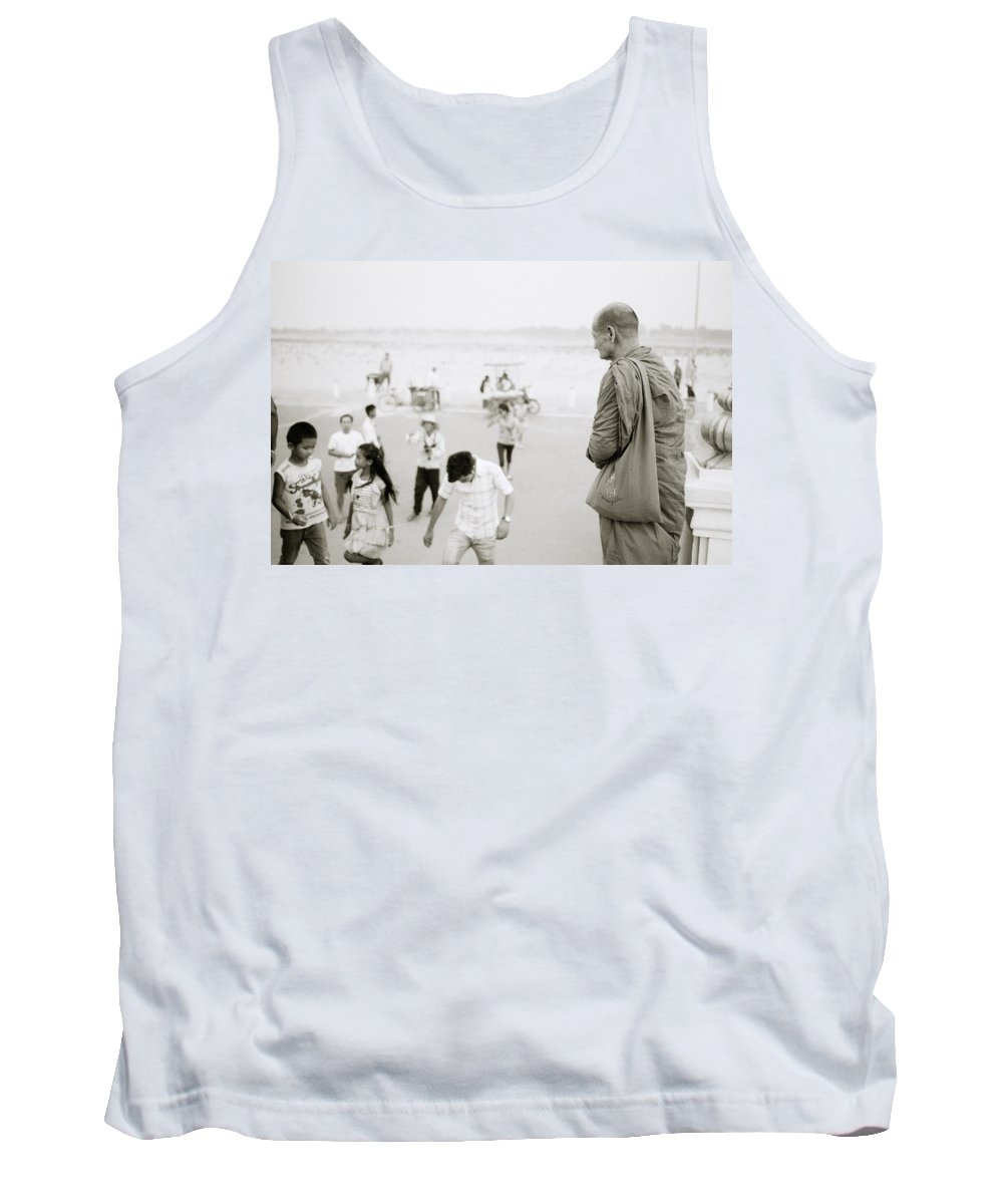 Asia Tank Top featuring the photograph Buddhism by Shaun Higson