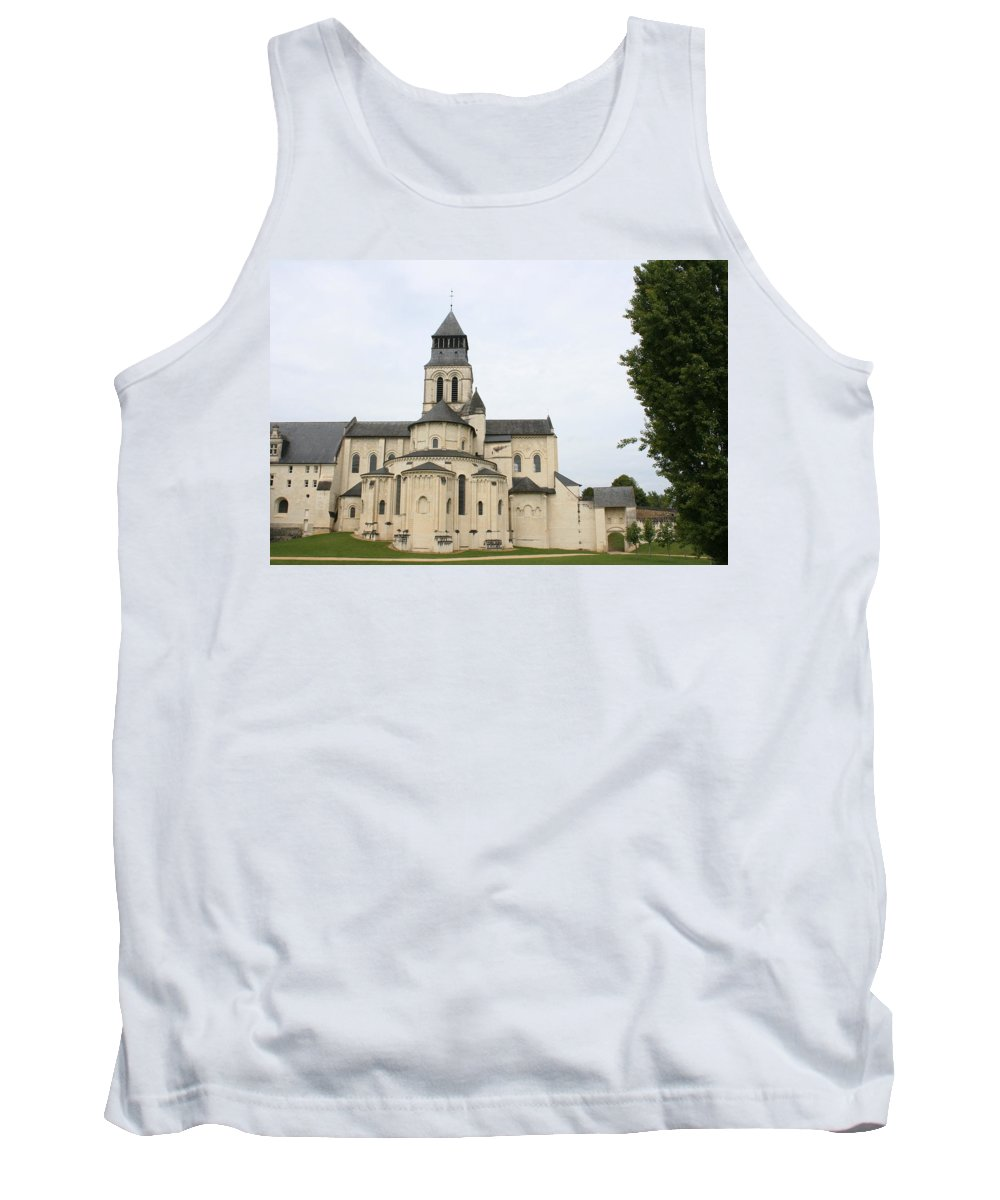 Cloister Tank Top featuring the photograph Cloister Fontevraud - France by Christiane Schulze Art And Photography