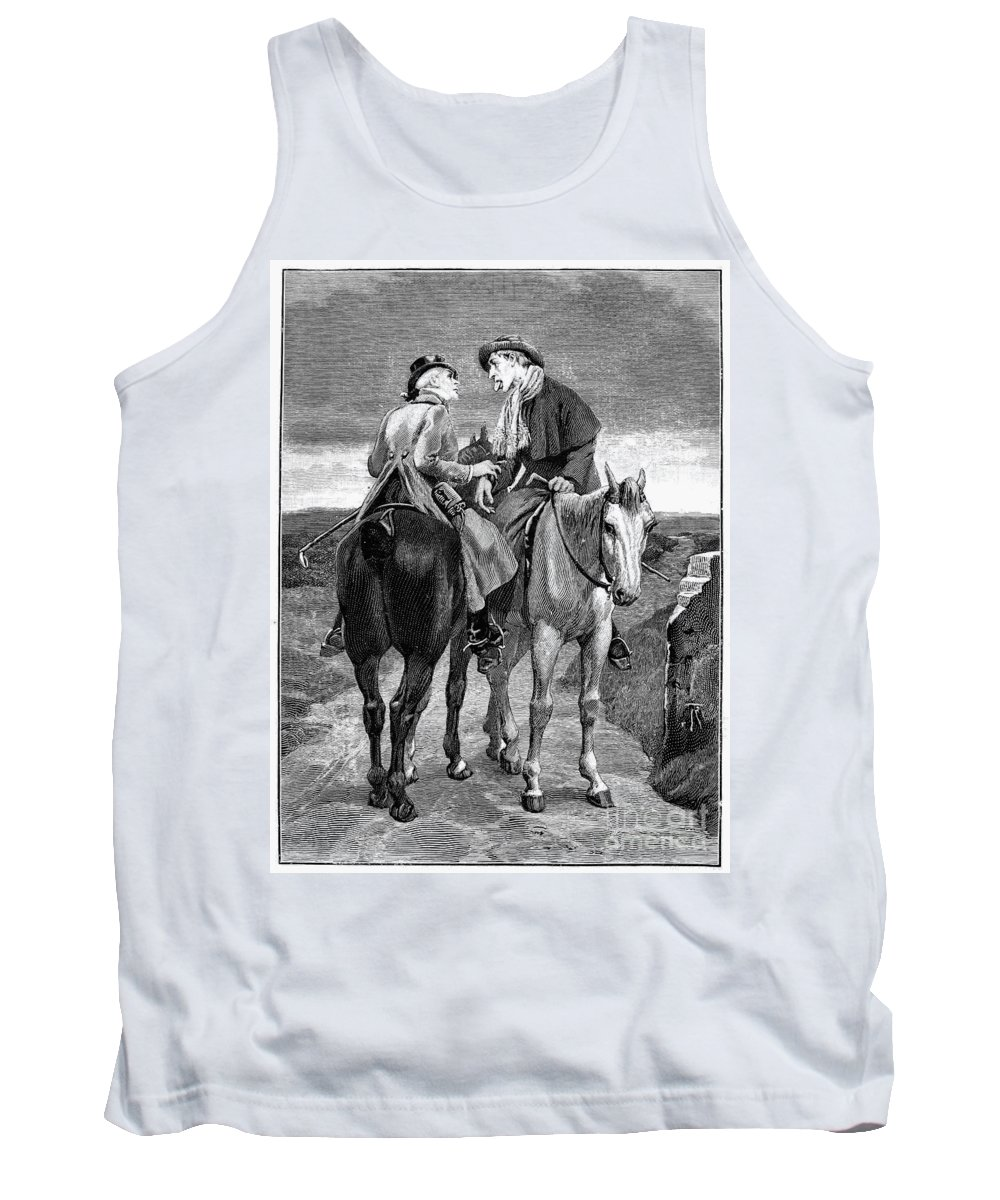 19th Century Tank Top featuring the photograph Doctor And Patient by Granger