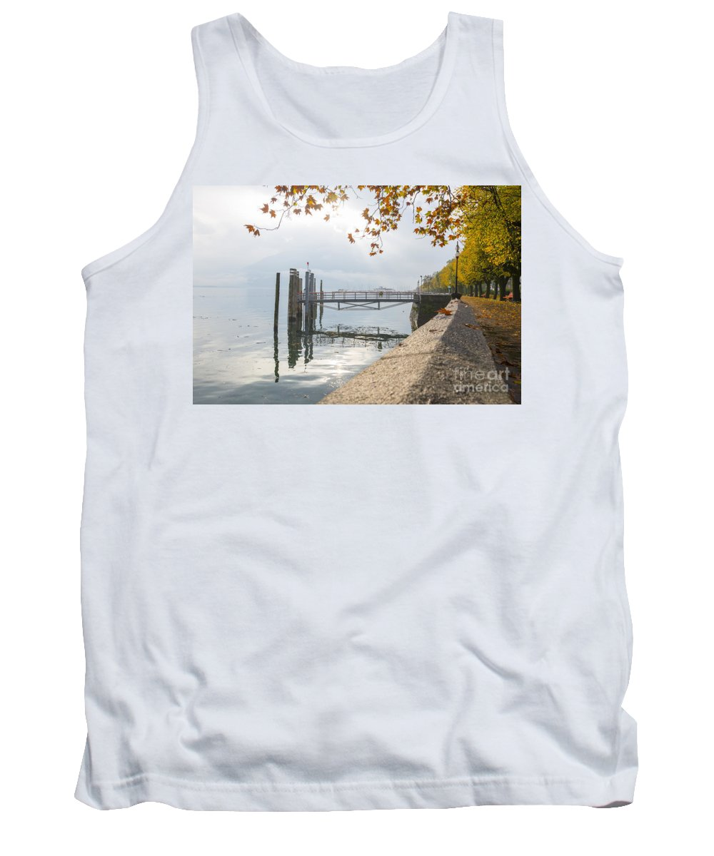 Lake Tank Top featuring the photograph Harbor by Mats Silvan
