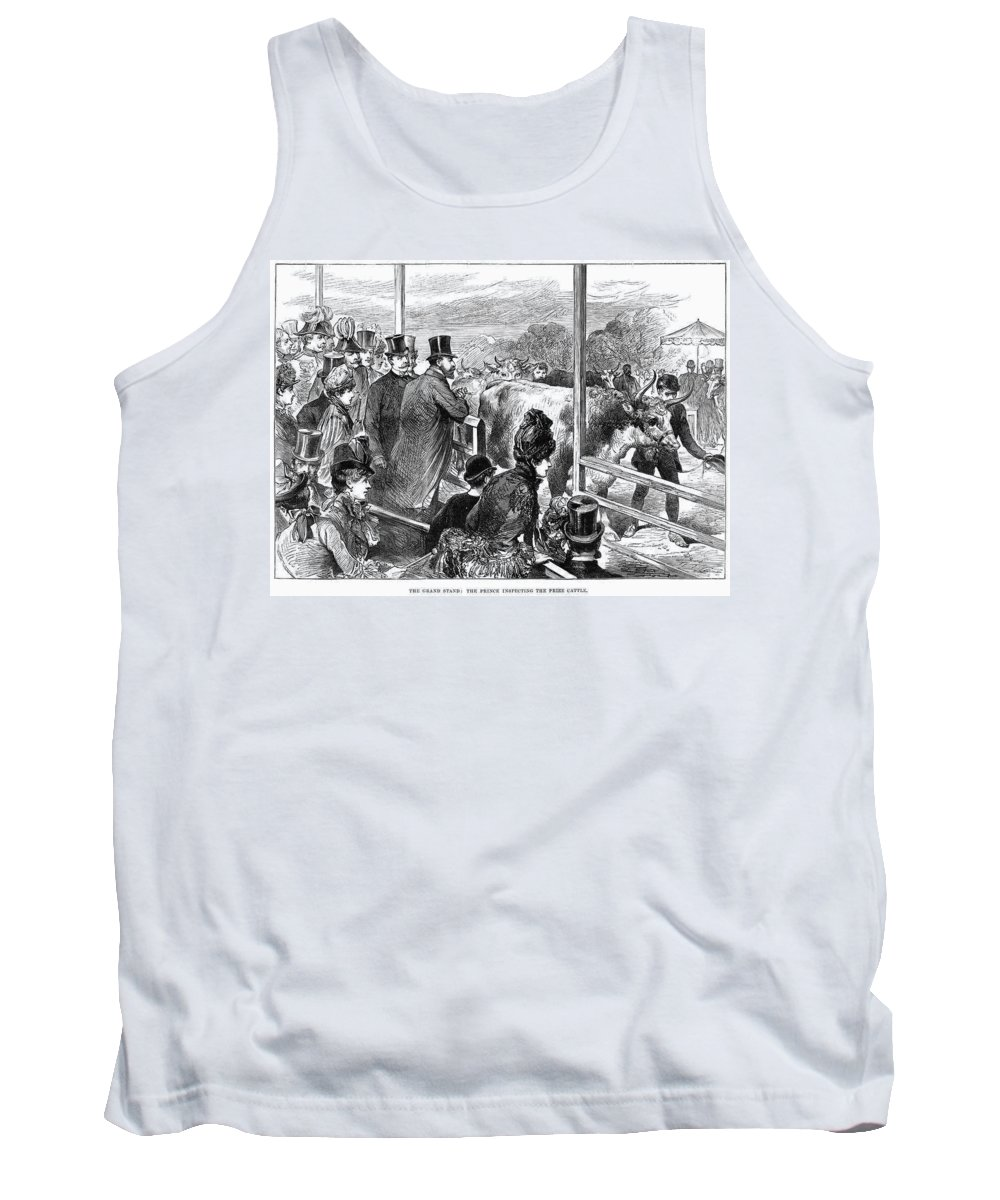 1887 Tank Top featuring the painting Edward Vii (1841-1910) by Granger