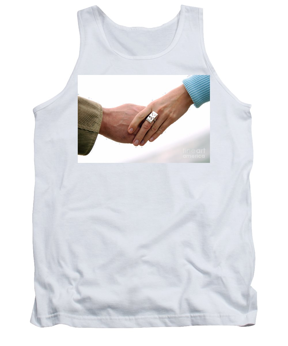 Adoration Tank Top featuring the photograph Always Together by Michal Bednarek