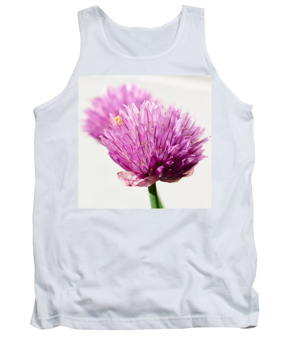 Lehto Tank Top featuring the photograph Chives by Jouko Lehto