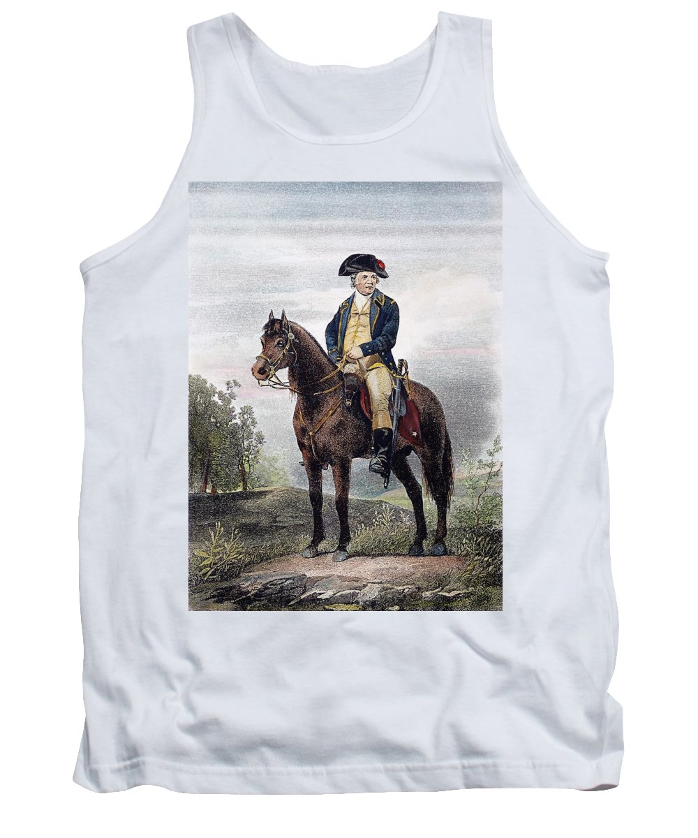 18th Century Tank Top featuring the photograph Israel Putnam (1718-1790) by Granger