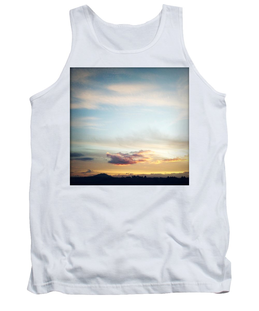 Sunset Tank Top featuring the photograph Sunset by Les Cunliffe