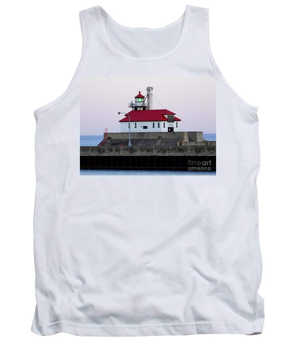 Lighthouse Tank Top featuring the photograph Lighthouse by Lori Tordsen