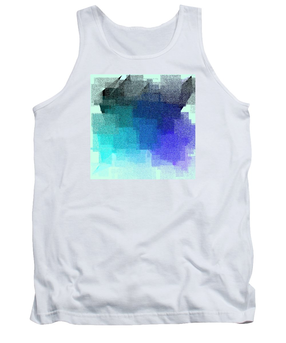 Abstract Tank Top featuring the digital art 5120.5.2 by Gareth Lewis