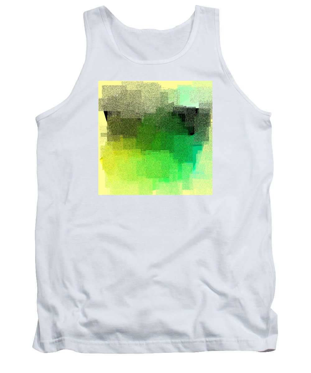 Abstract Tank Top featuring the digital art 5120.5.34 by Gareth Lewis