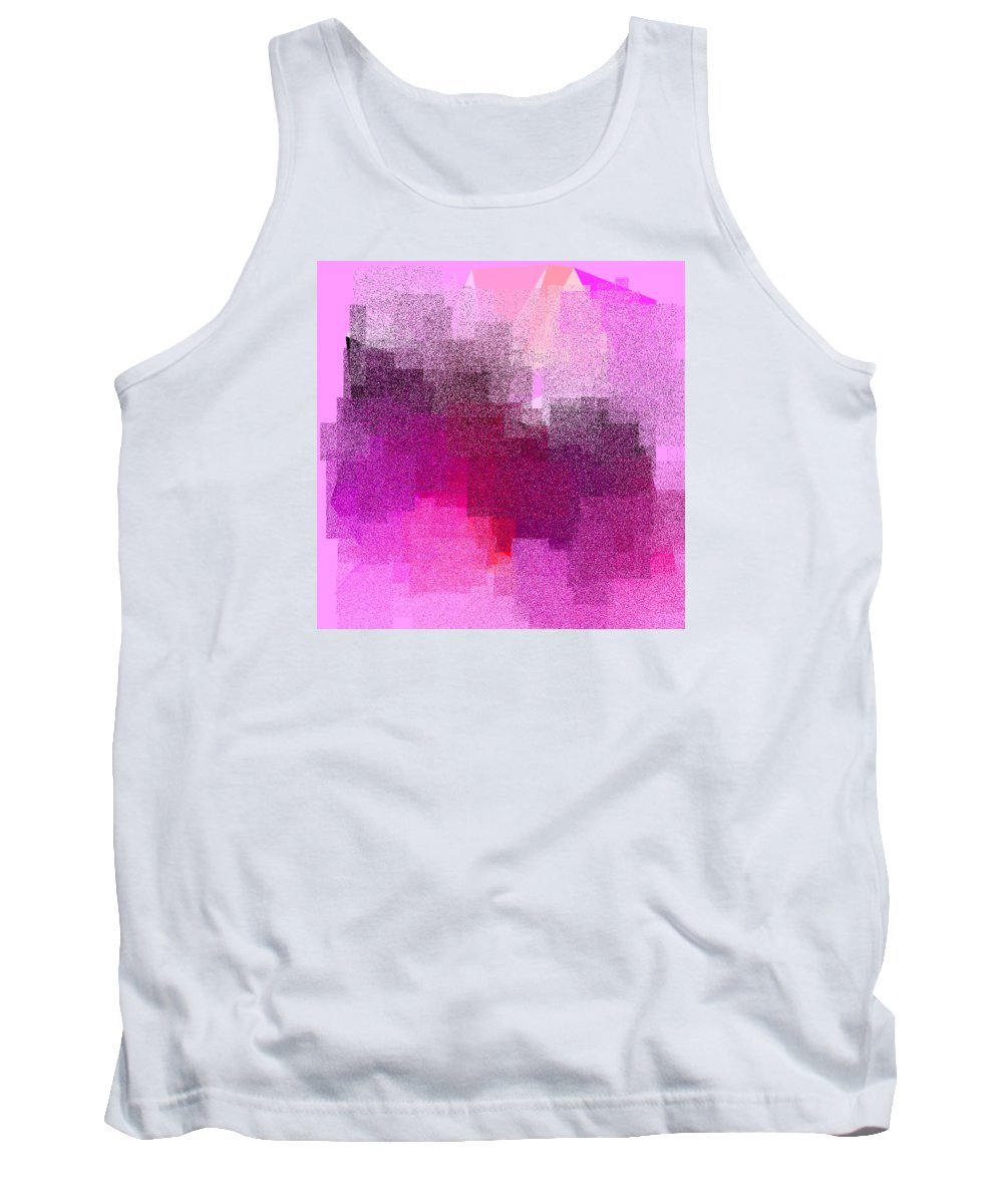 Abstract Tank Top featuring the digital art 5120.5.7 by Gareth Lewis