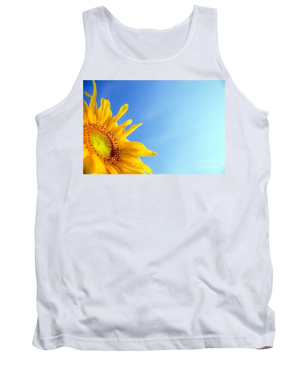 Sunflower Tank Top featuring the photograph Sunflower by Michal Bednarek