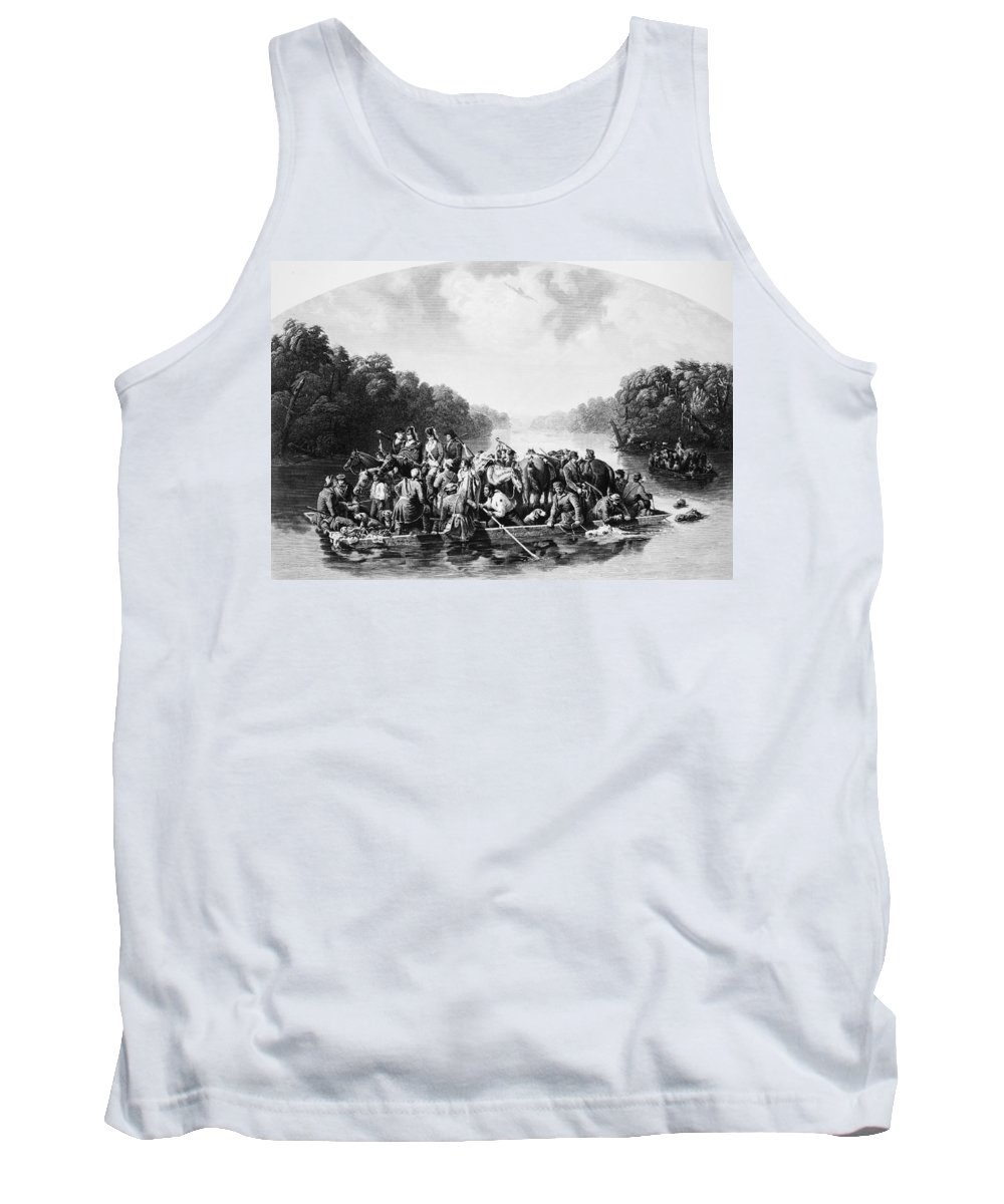 1780 Tank Top featuring the photograph Francis Marion (1732?-1795) by Granger