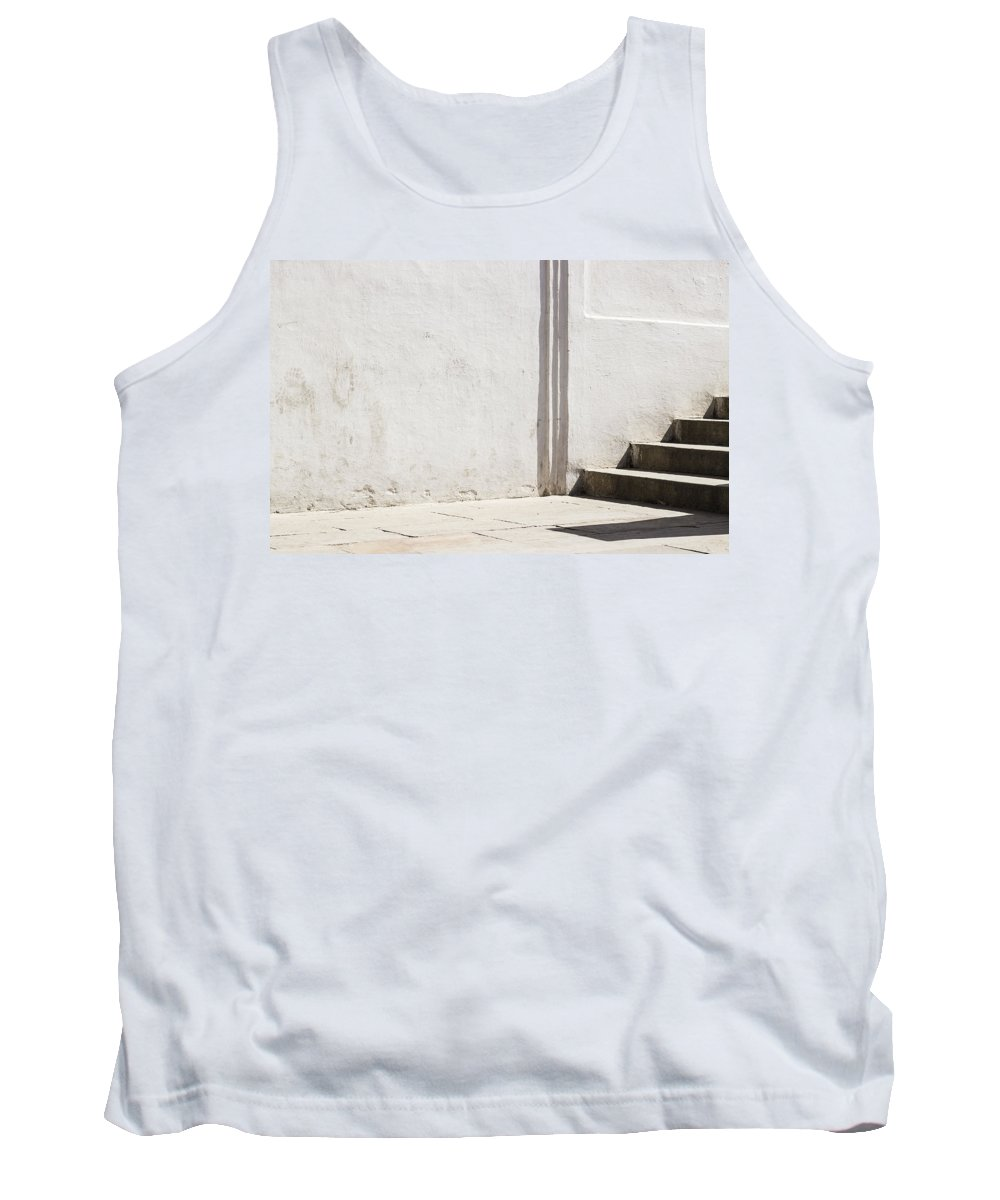 Simple Geometry Tank Top featuring the photograph A Call From The Unknown by Prakash Ghai