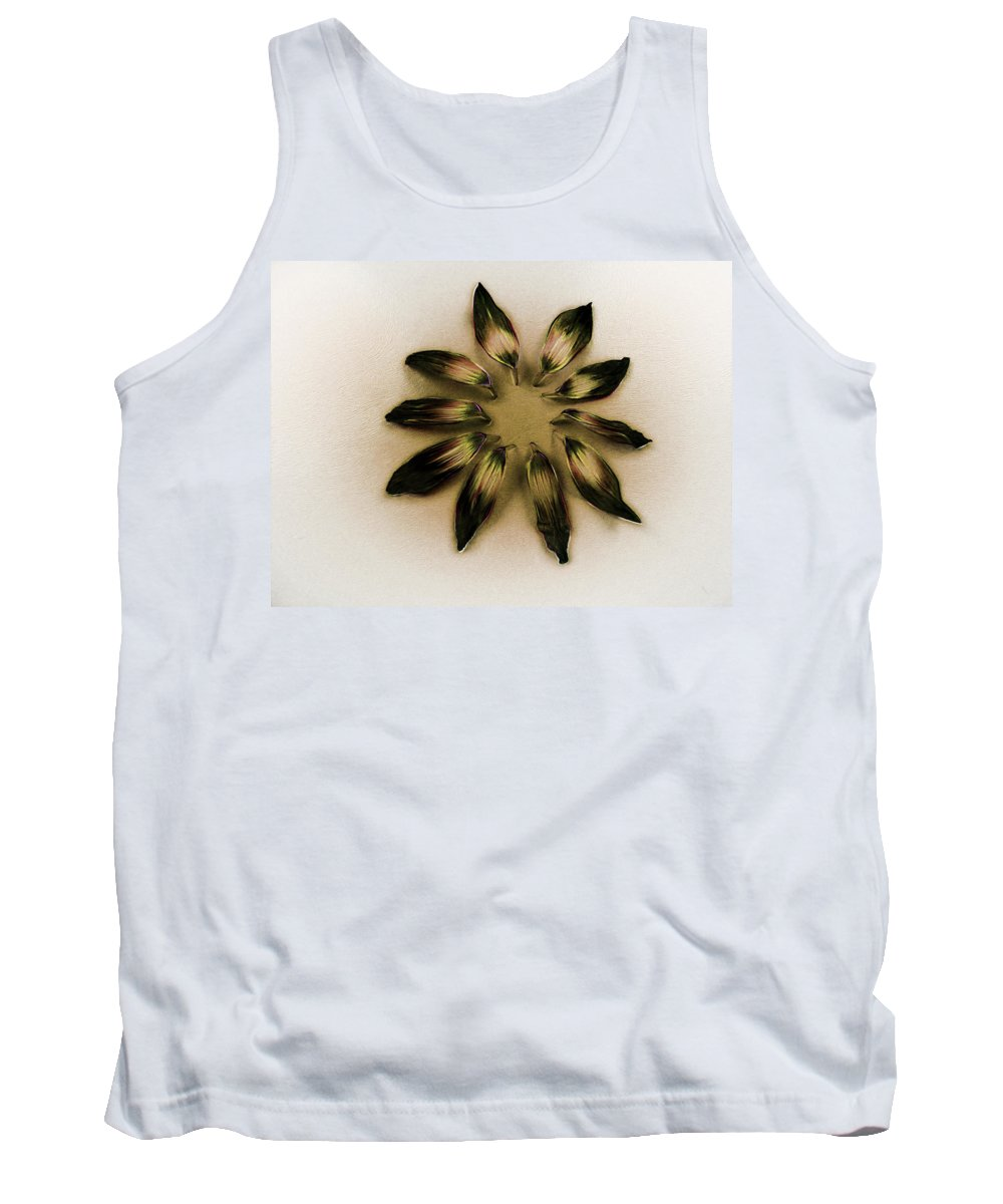 Art Tank Top featuring the photograph A Design Conference by Steve Taylor