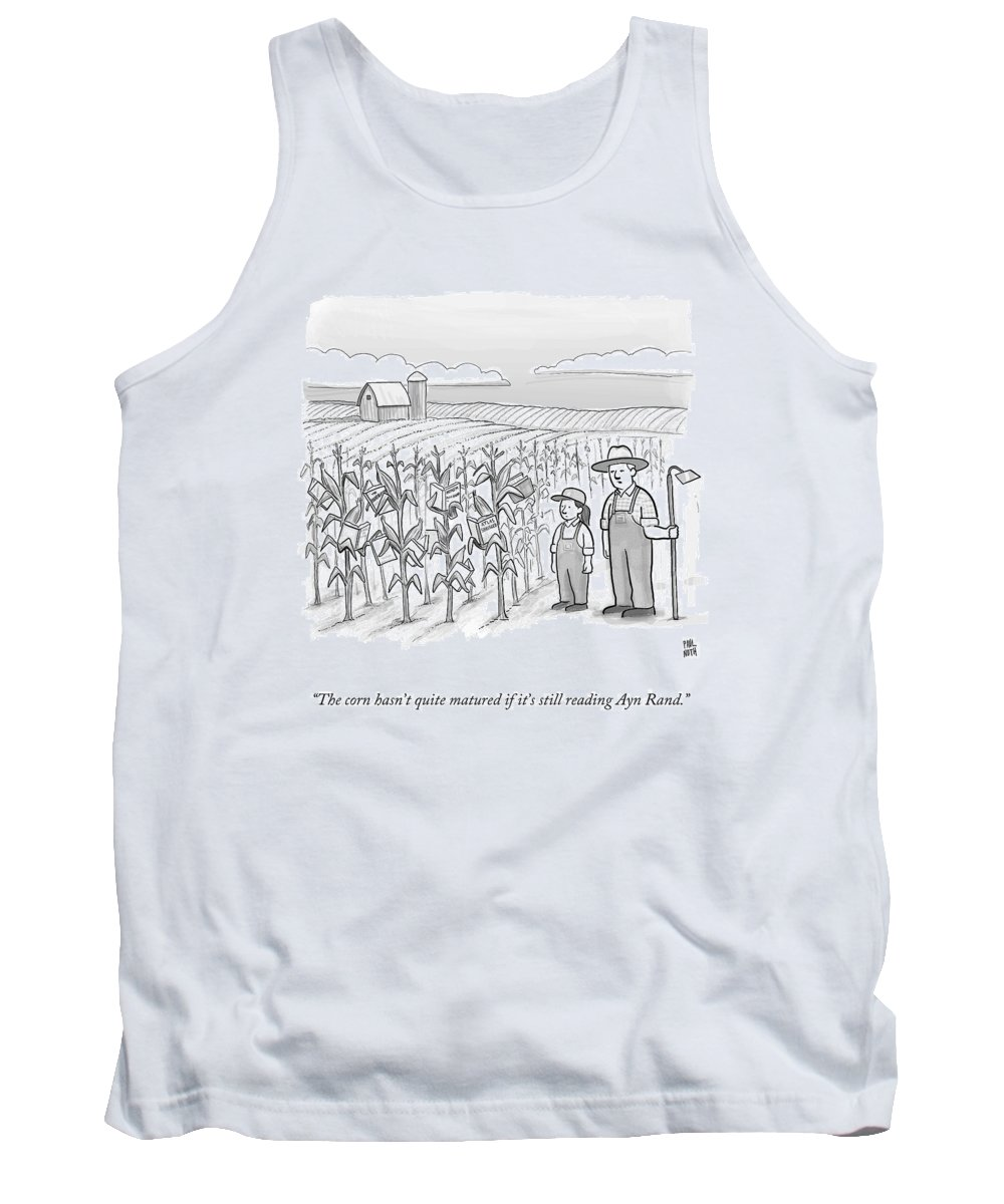 Ayn Drawings Tank Tops