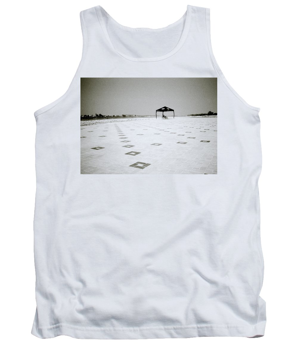 Asia Tank Top featuring the photograph A Solitary Life by Shaun Higson