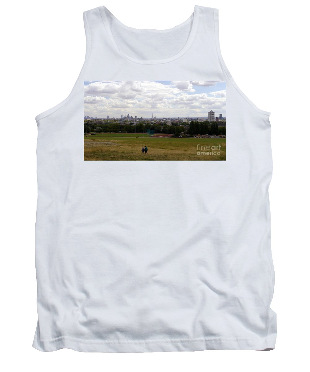 Walk In London Tank Top featuring the photograph A Walk In London by John Chatterley