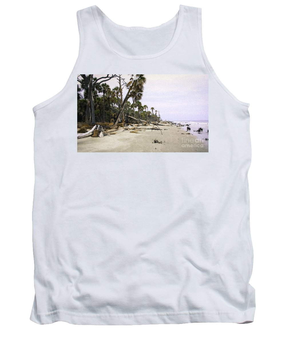 Photography Tank Top featuring the photograph After The Storm by Michael Mietlicki