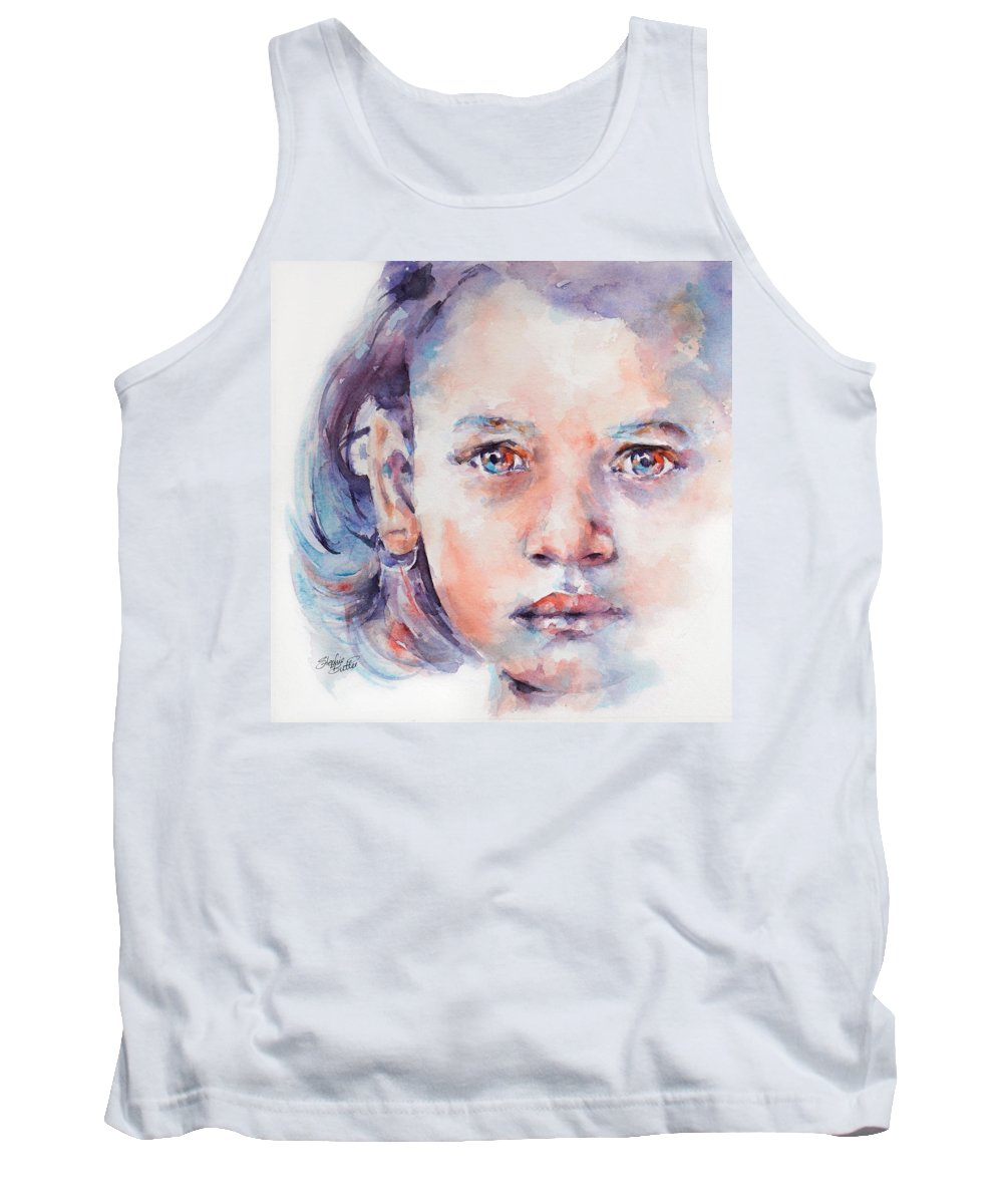 Tank Top featuring the painting Almost by Stephie Butler