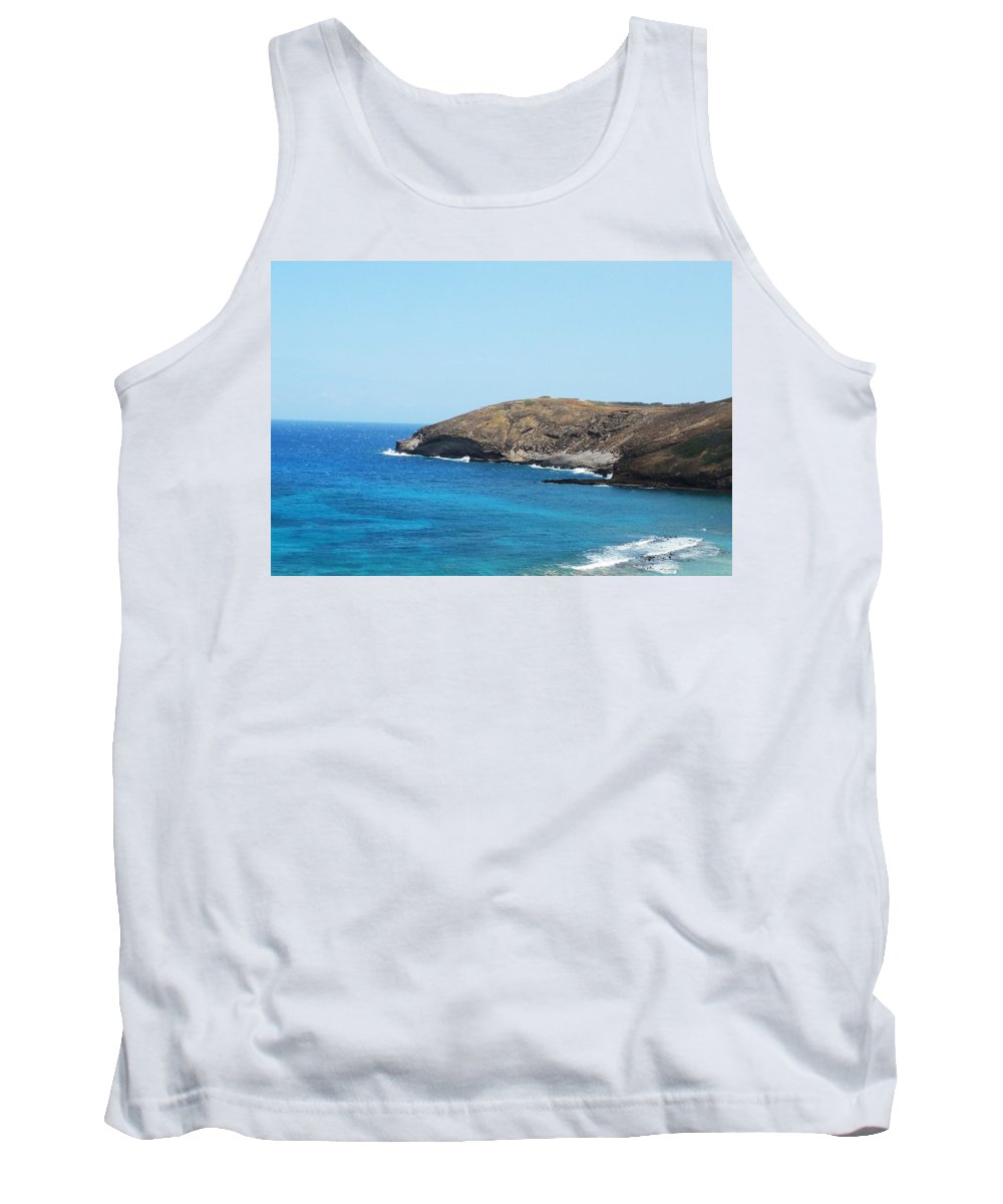 Oahu Tank Top featuring the photograph Along The Bay by Mike Niday