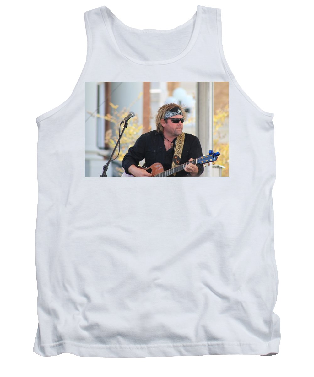Andy Griggs Tank Top featuring the photograph Andy Griggs by Mary Koval