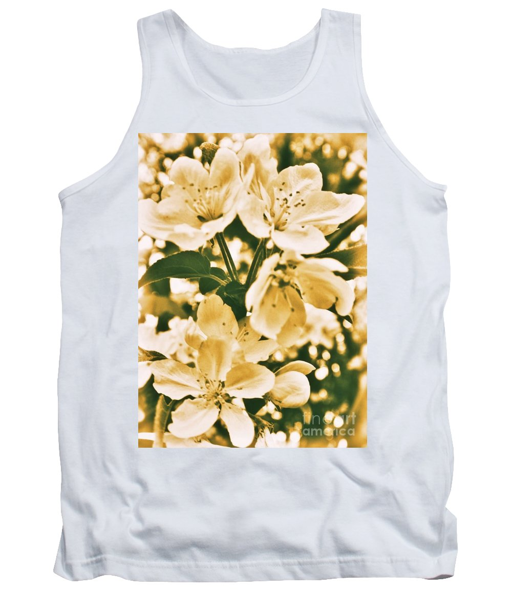 Tank Top featuring the photograph Apple Blossoms 2 by Chet B Simpson