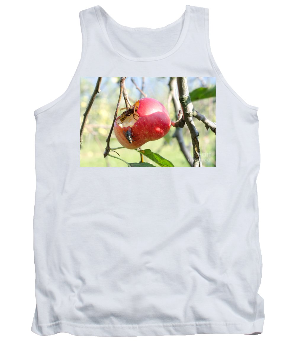 Apple Tank Top featuring the photograph Apple by Mats Silvan