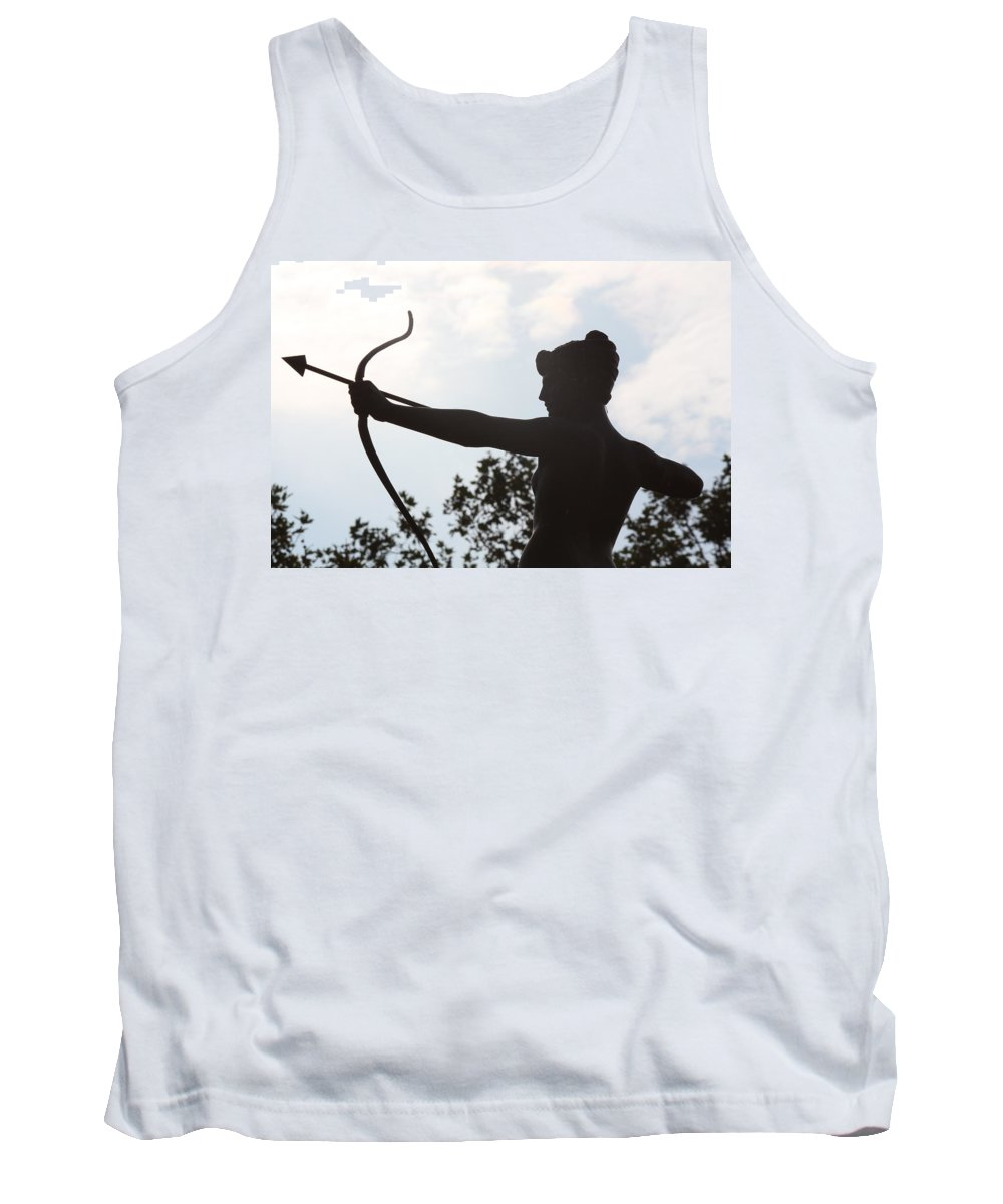 British Tank Top featuring the photograph Artemis by Nicholas Miller