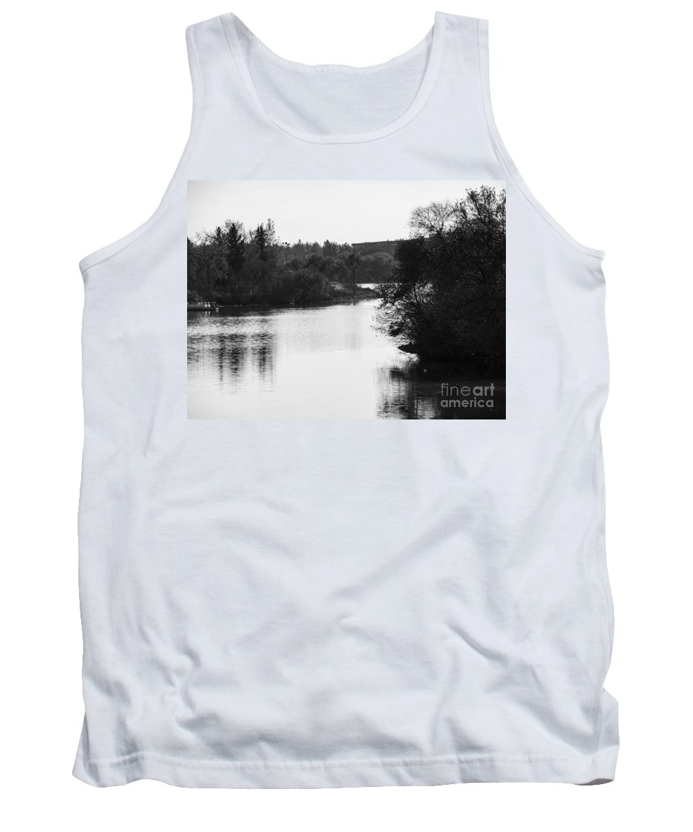 Lake Tank Top featuring the photograph At The Lake-49 by David Fabian