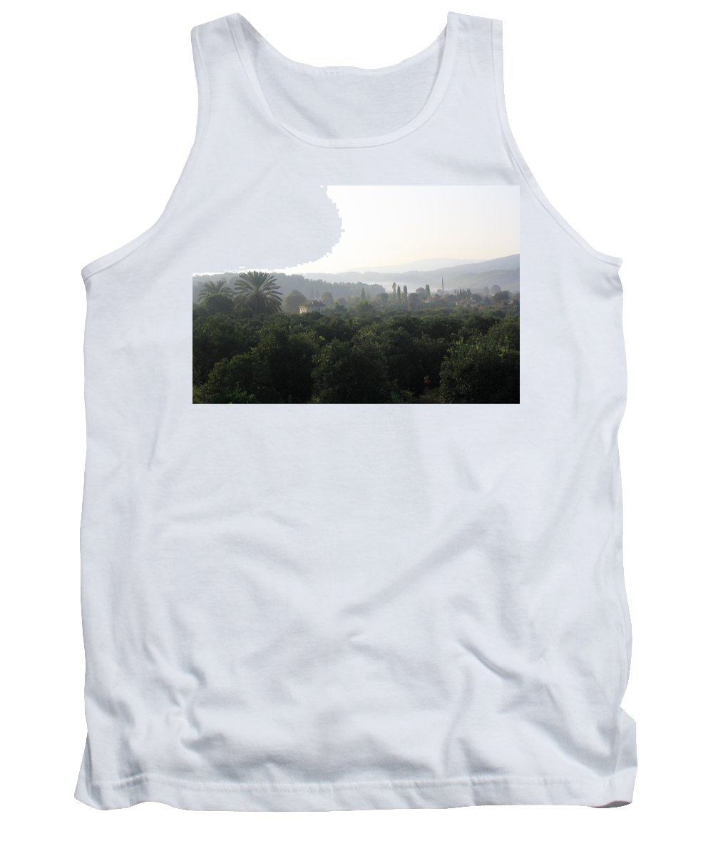 Atakoy Tank Top featuring the photograph Atakoy Landscape by Taiche Acrylic Art