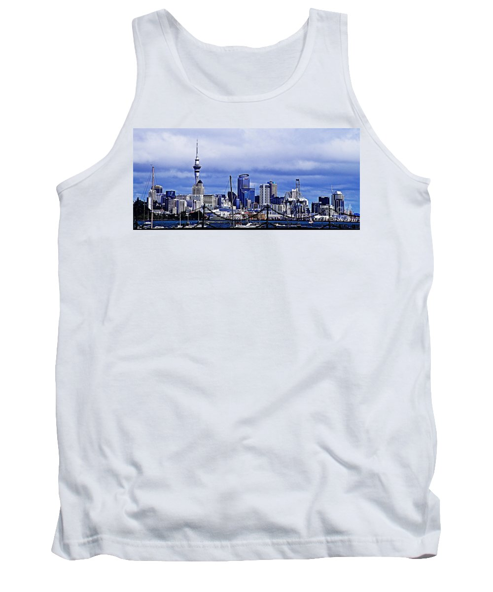 Auckland Tank Top featuring the photograph Auckland 4 by Ben Yassa