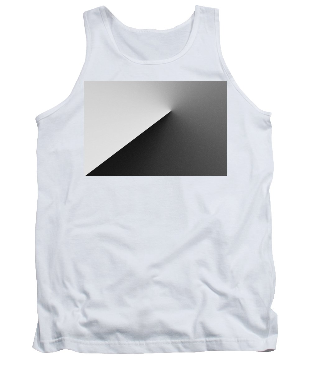 Austere Tank Top featuring the digital art Austere by Kathy Clark